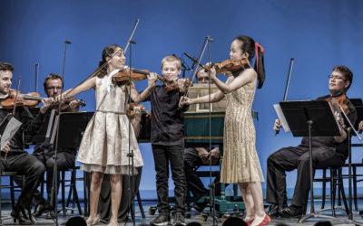 Ifjú hegedűsök Budapesten