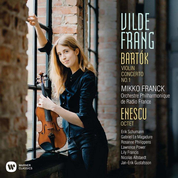 Vilde Frang Bartók-Enescu lemeze rangos díjat nyert